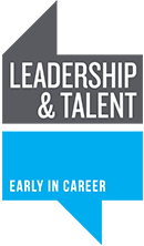 Leadership and Talent - Early in Career logo.