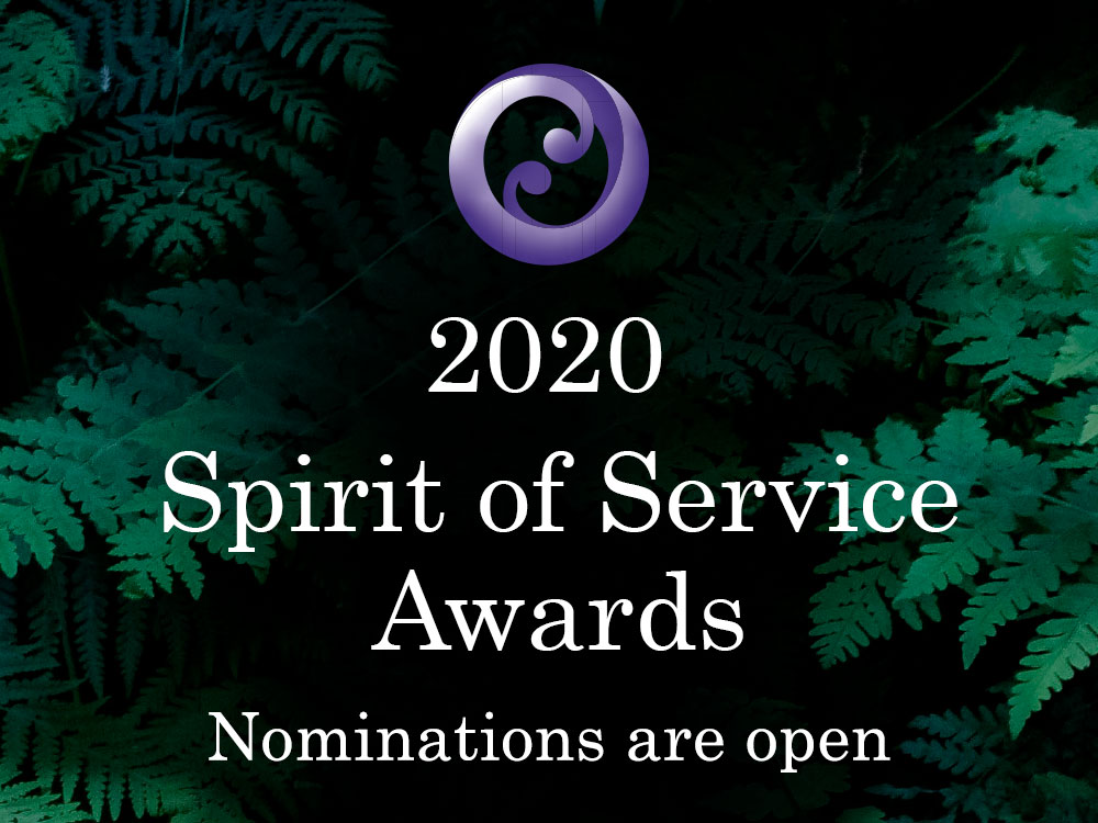 2020 Spirit of Service Awards Nomination Open